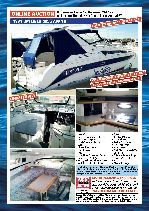 1991 BAYLINER 3055 AVANTI #boatsforsale