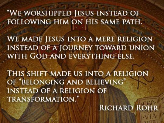 Richard Rohr quote