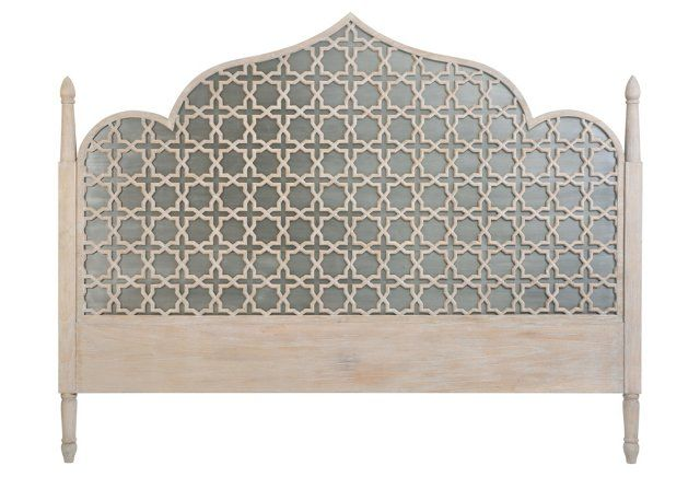 Loki arch headboard gray inspired by the classic moorish for Affordable furniture on 45
