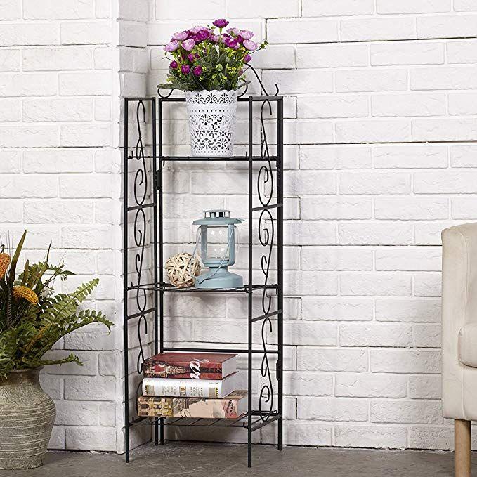 Amagabeli Garden Home Versatile 3 Tier Standing Wire Shelf