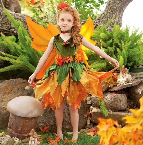 Как самим сшить костюм для детского праздника осени