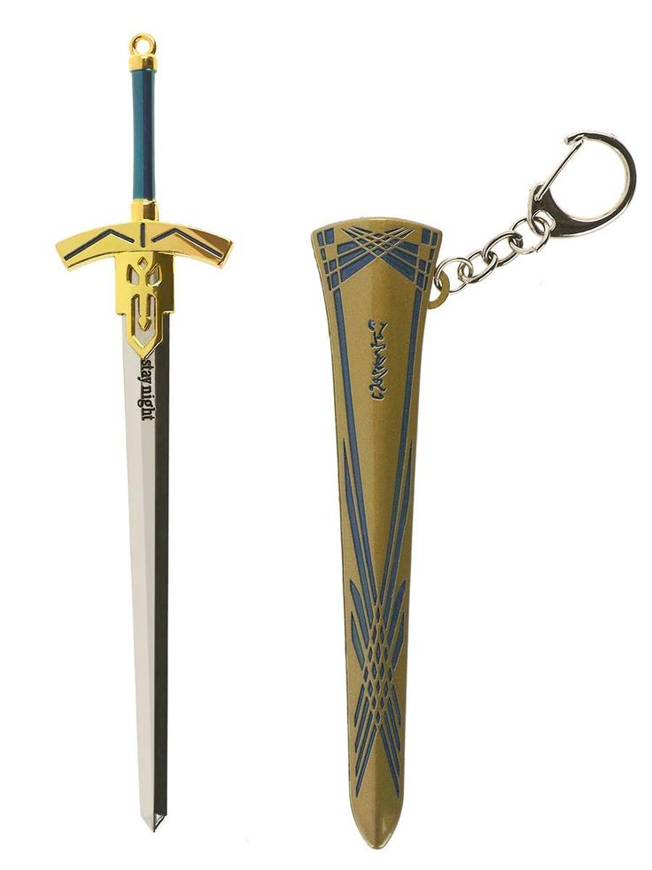 Fate/Stay Night Model of Saber's Excalibur sword   Stay night. Fate stay night. Fate