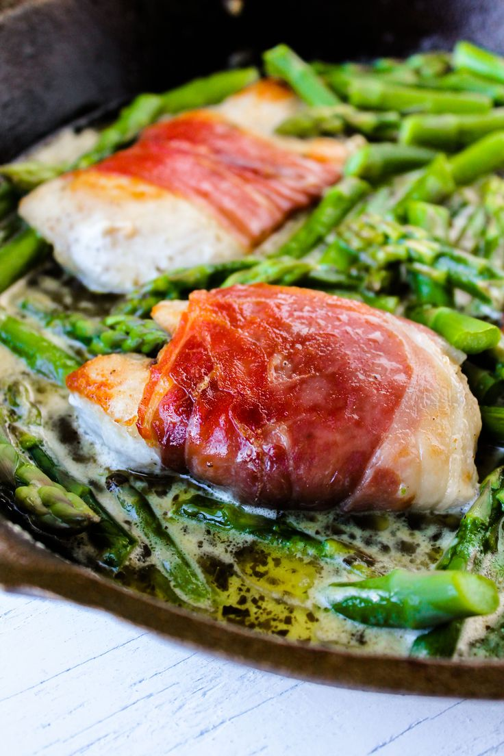 ... wrapped chicken breast with roasted green beans grilled bacon wrapped