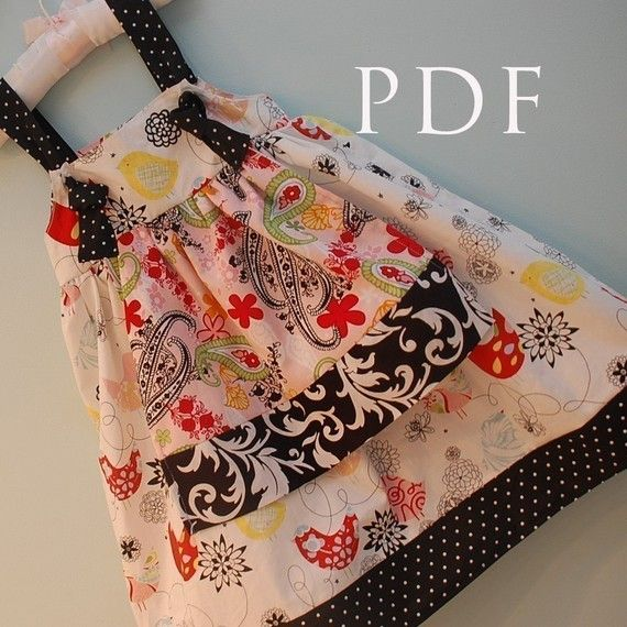 Love her patterns. Super easy :): Dress Patterns, Girls, Crafts Ideas, Aprons Dresses, Aprons Knot, Knots, Knot Dresses, Dresses Patterns, Sewing Patterns
