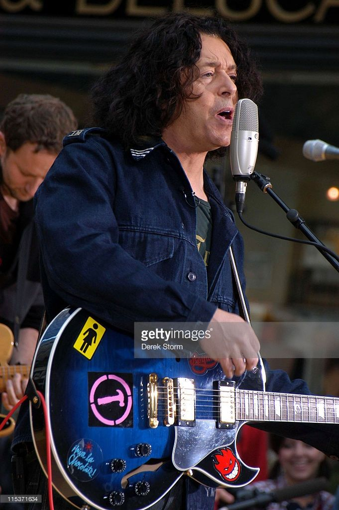 Roland Orzabal of Tears For Fears during Tears For Fears Performs at the 'Weekend Today' Show 2004 Summer Concert Series - September 25, 2004 at Rockefeller Plaza in New York City, New York, United States.