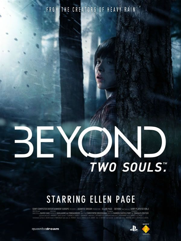 Ellen Page as Jodie Holmes in the Quantic Dreams game Beyond: Two Souls