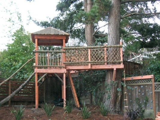 55 best i want to build a tree house images on pinterest for Magic cabin tree fort kit