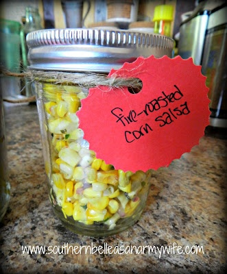 Southern Belle as an Army Wife: Fire Roasted Corn Salsa