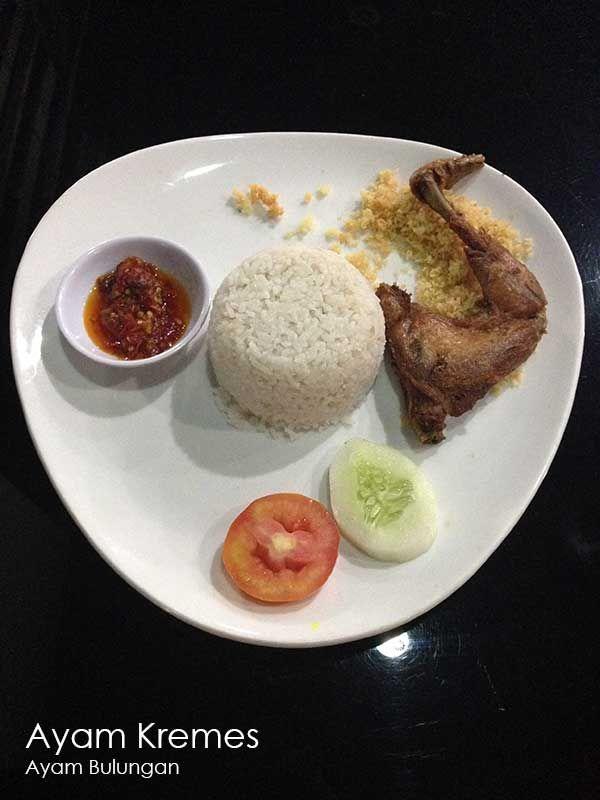 Ayam Kremes – Ayam Bulungan