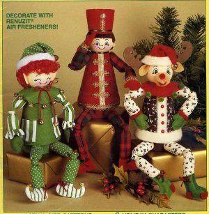Reindeer Clay Pot Craft | Unique Xmas Craft Patterns Elf Santa Reindeer Angel…