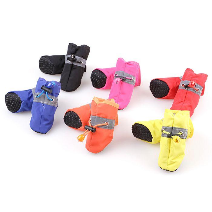 Dog Shoes Teddy Bomei Vip Bixiong Soft Soled Rainshoes Boots Dog Foot Covers Waterproof Pet Shoes Dog Shoes Pet Supplies Wholesale Online Pet Supplies