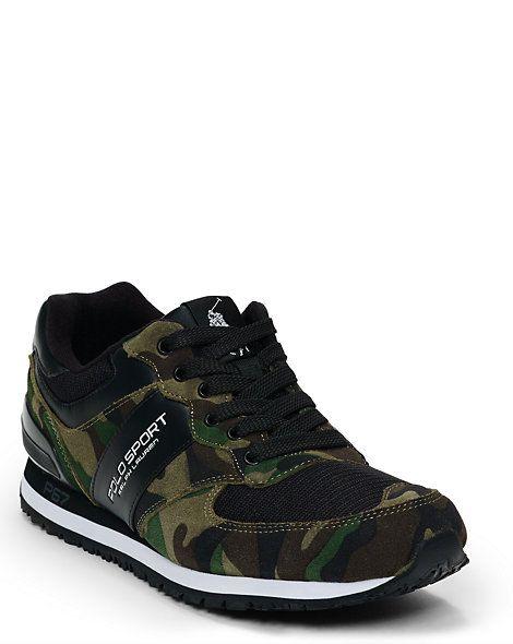 Slaton Camo Sneaker - Sneakers Shoes - RalphLauren.com. Polo ...