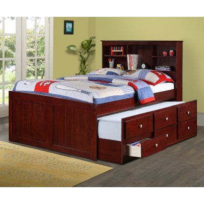 25 best ideas about captains bed on pinterest full bed with storage bed frame diy storage - Full size captain beds ...