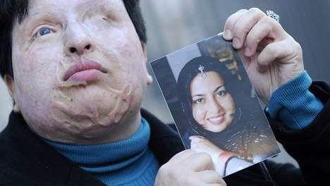 Vrouw krijgt bijtend zuur in gezicht uit eerwraak (Fleur)