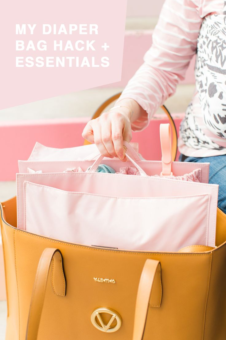 Little Sugar & Cloth: What Are Your Diaper Bag Essentials? + My ToteSavvy Hack! | Sugar & Cloth