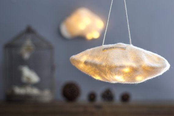 Nuage de Lumière Blanc Lampe Veilleuse par EkaterinaGalera sur Etsy