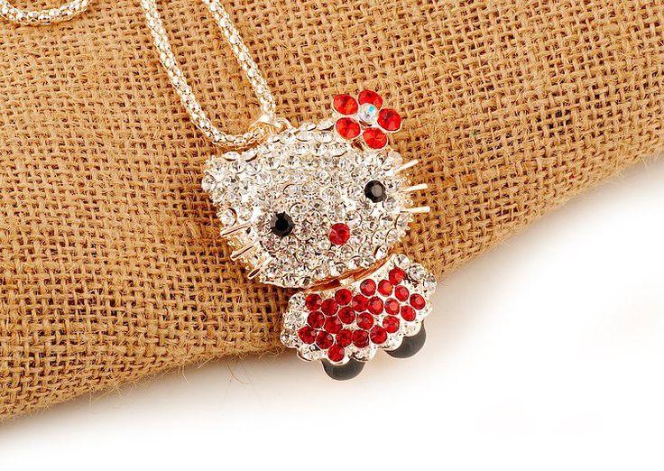 Оптовая торговля, Бесплатная Доставка, оптовая hello kitty ювелирных изделий, hello kitty костюм талисмана с бесплатным ювелирного подарка 1 шт. много