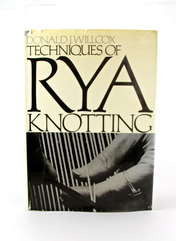Rya Knotting.