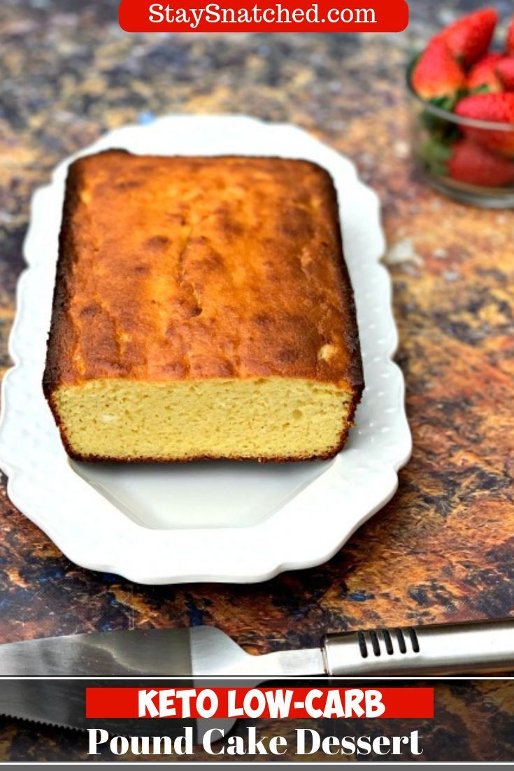 Keto Low Carb Gluten Free Pound Cake Is A Quick Easy Healthy Recipe Using Lemon Butter Almond Flo Gluten Free Pound Cake Almond Recipes Recipe Using Lemons