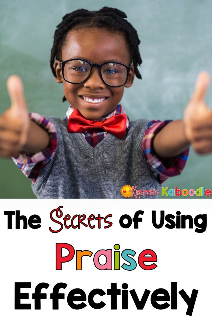 How do you know if the praise you are giving students is having the desired effect? Do you want to know the secrets to using effective praise?  Check out this list of important do's and don'ts, which are also supportive of growth mindset, when praising th