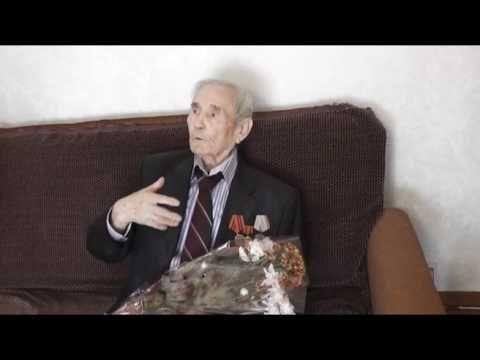 ветеран ВОВ Дмитрий Аринархов празднует 90-летие