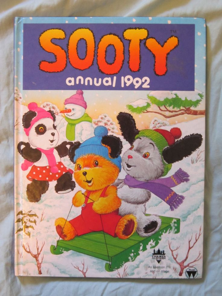 Sooty annual 1992