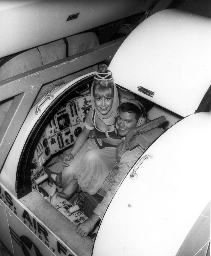 I Dream of Jeannie, Barbara Eden & Larry Hagman