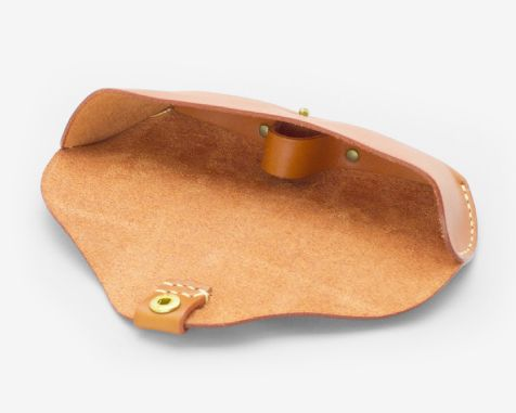 手縫いの革製メガネケース | 革小物のDuram Online Shop