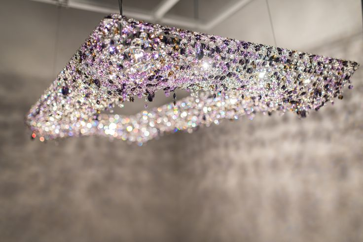 Manooi crystal chandelier | Koi