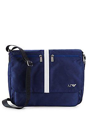 ARMANI JEANS WOVEN STRIPE SATCHEL BAG. #armanijeans #bags #shoulder bags #hand bags #satchel #
