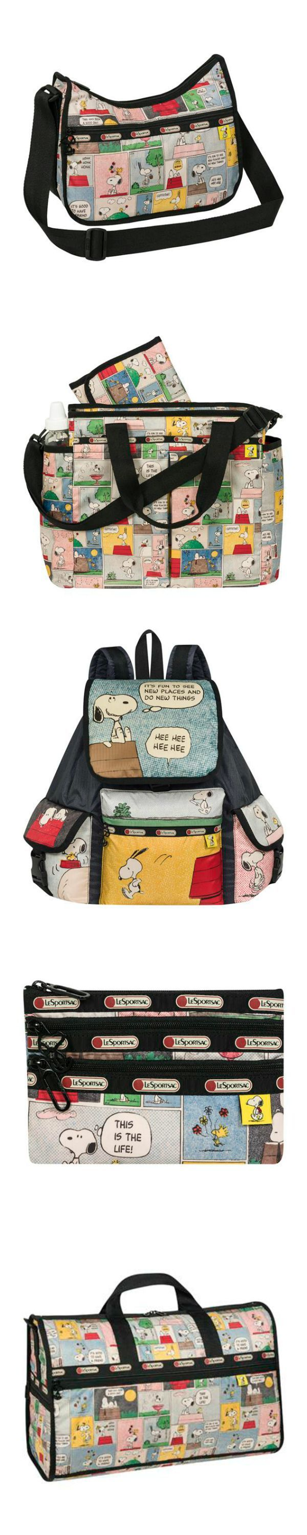 Bring your best friend, Snoopy, wherever you go! LeSportsac has a variety of cute backpacks, purses, cases and more just waiting to join your collection. Start shopping at CollectPeanuts.com to help support our site.