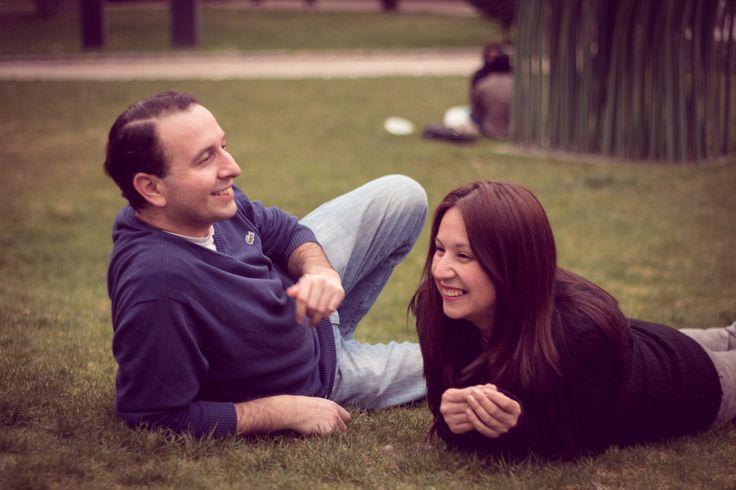 Karina y Rodrigo, Sesión de Compromiso  Providencia Septiembre de 2014