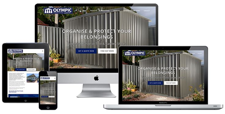 Ivolution Consulting - Adelaide Website Design - Olympic Industries