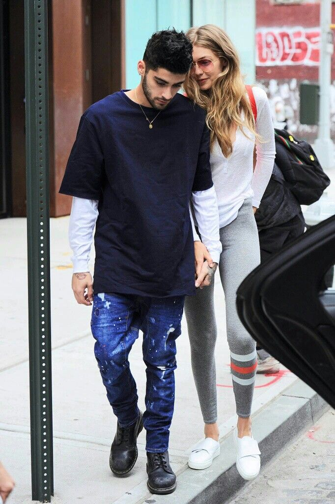 Gigi Hadid and Zayn Malik | @nickibryson