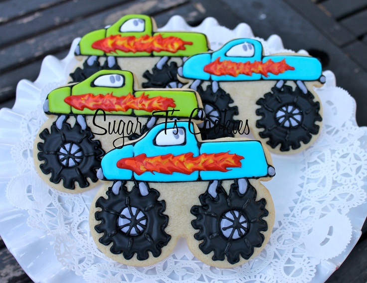 Cake Decorating Classes Near Rockwall Tx : 1000+ ideas about Monster Truck Cookies on Pinterest ...