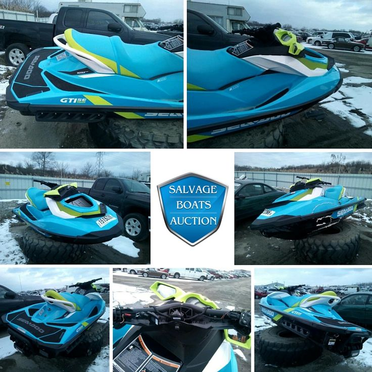 ¡Este Sea-Doo GTI SE 155 moto acuática 2015 estaba a la venta 4/8!   Ve que otros motos acuáticas estan disponibles en http://www.salvageboatsauction.com/es/make_by/Salvage-Sead-for-Sale.    #motoacuatica #seadoogtise155 #venta #seadoo #enventa #oferta #enlinea #bote #salvage #botes #subasta