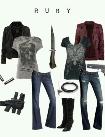 Ruby Supernatural Outfit. Love it!