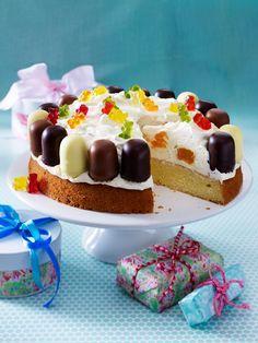 Kuchen für Kindergeburtstag - kinderleicht und kunterbunt  - Wunderweib