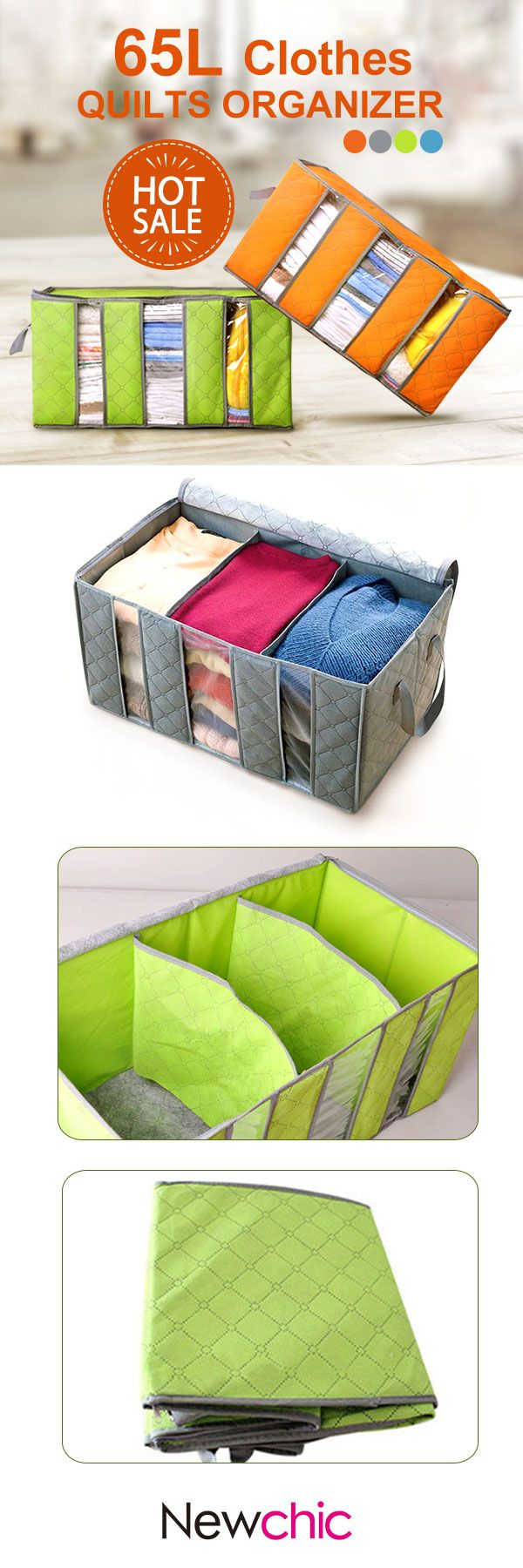 How to keep clothes organize well in one box. Guys, click the pic or the visit button to check out our purchasing page if you'd like to have one:)
