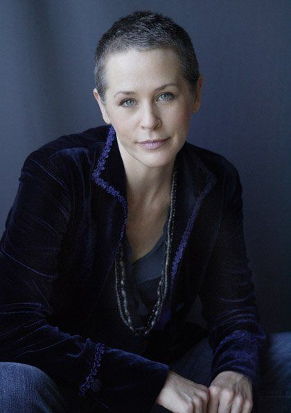 Melissa Walked Into The Cpc Terrified I Think I Am: Melissa McBride. If I Ever Go Very Short Again.