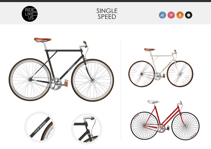 Your Brand Here - Single Speed | Ride Like Us
