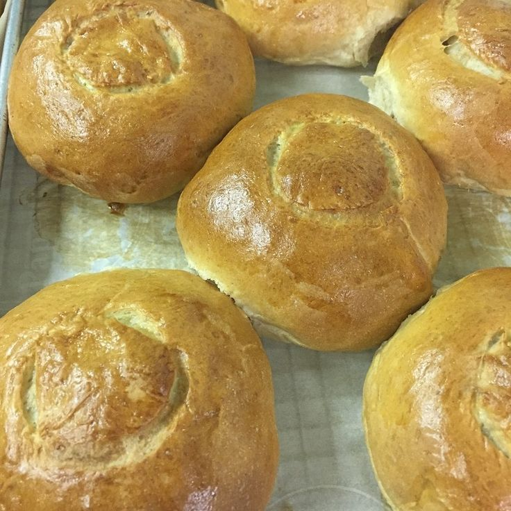 Our bread bowls for stews and soups. They are the best.