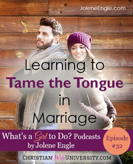Every person I know struggles with using the tongue in such a way where it glorifies the Lord and edifies