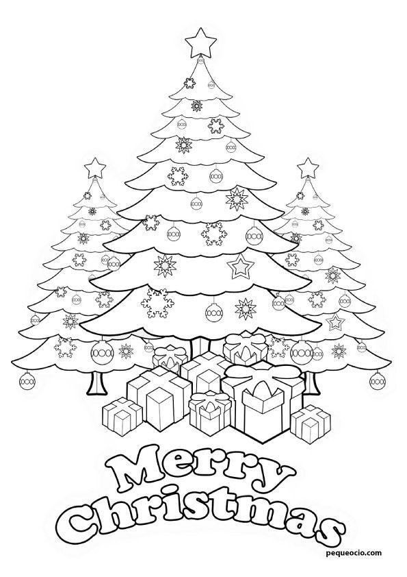 12+ Dibujos de arboles de navidad para imprimir ideas in 2021