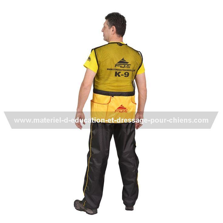 #Protection légère anti-rayures - #veste sans manches à plusieurs poches, confortable pour faire entrainements et concours -> 60.00 €  @fordogtrainersf Pensez à mentionner «J'aime» si ce produit vous plaît.