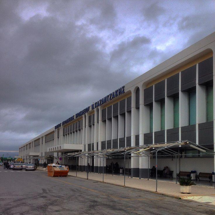 N. Kazatzakis airport in Herakleion Crete