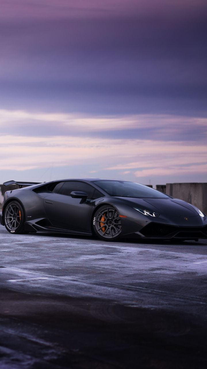 Black Sports Ca Lamborghini Huracan 720x1280 Wallpaper Lamborghini Huracan Sports Cars Lamborghini Lamborghini