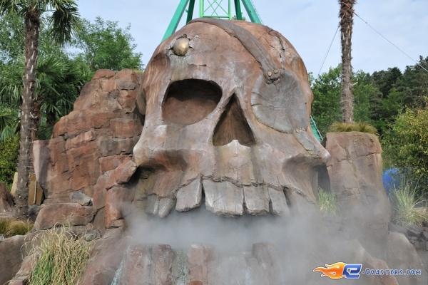 17/26 | Photo de l'attraction Pirates Attack située à Fraispertuis-City (France). Plus d'information sur notre site http://www.e-coasters.com !! Tous les meilleurs Parcs d'Attractions sur un seul site web !!