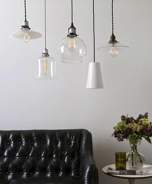 New Glass, Opal, and Porcelain Shades from Schoolhouse Electric