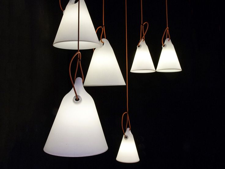 Polyethylene ceiling lamp TRILLY by Martinelli Luce | design Emiliana Martinelli